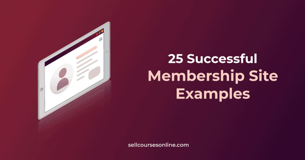 Membership Site Examples