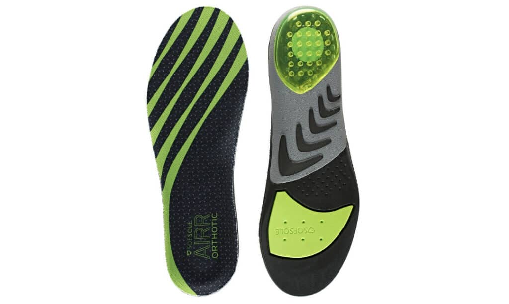 Best Insoles for Basketball Shoes: Sof Sole Air Orthotic