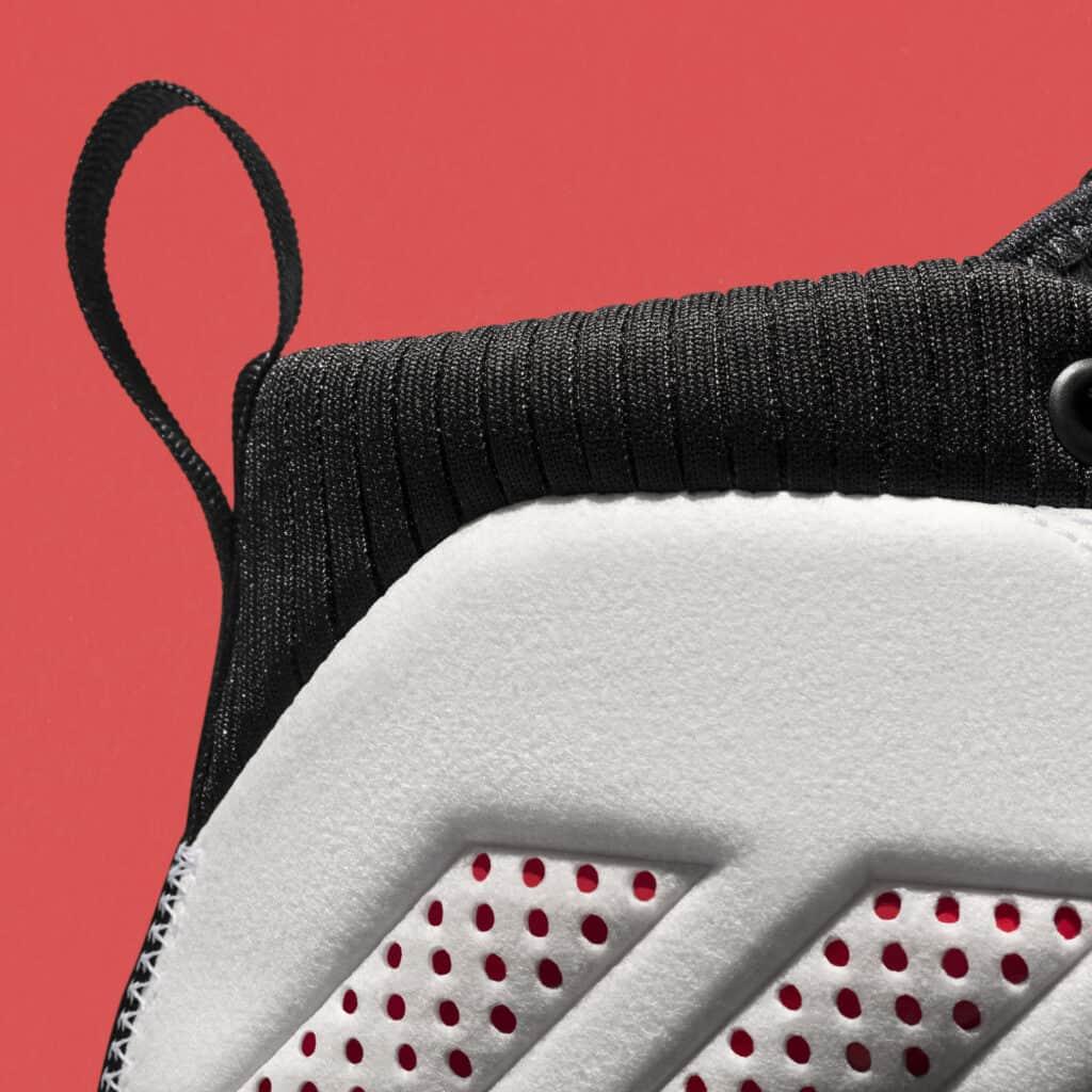 Adidas Dame 5 Review: Heel 2