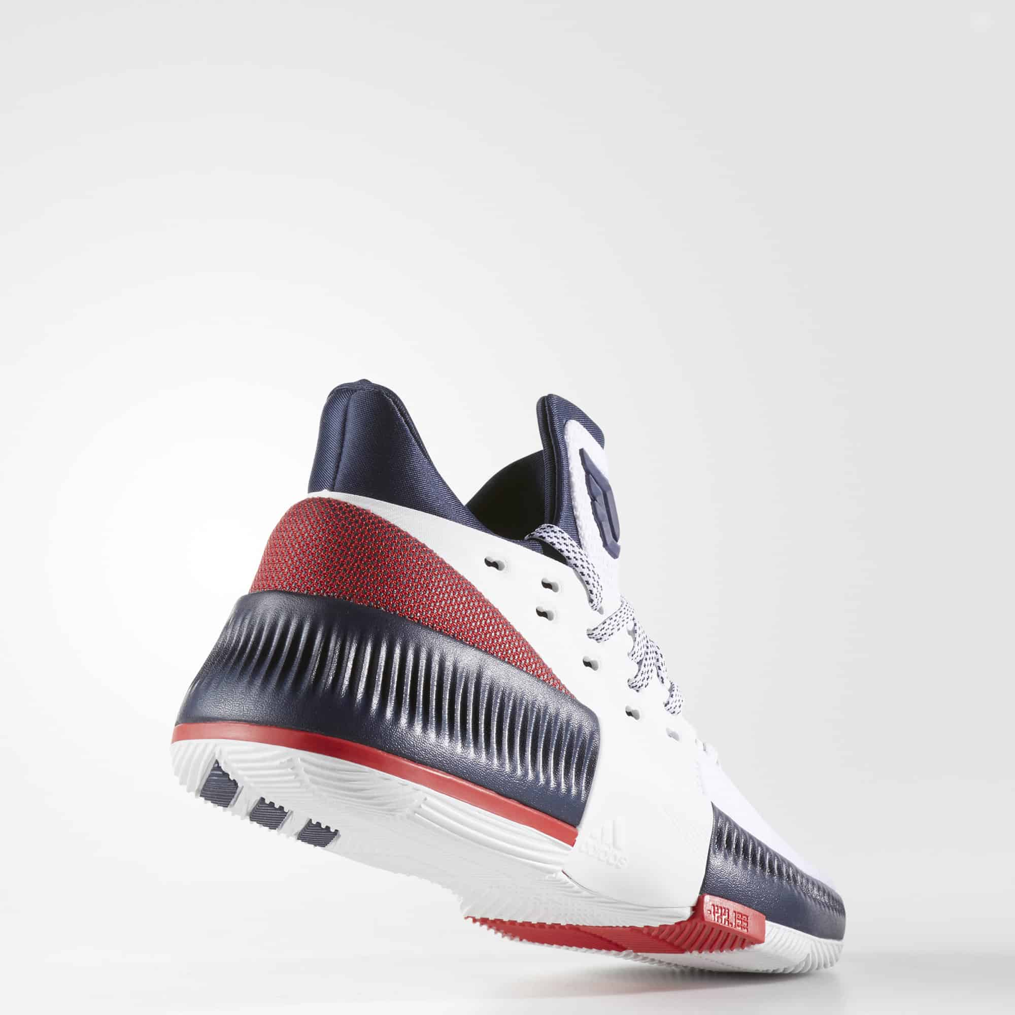 Adidas Dame 3 Review: Back