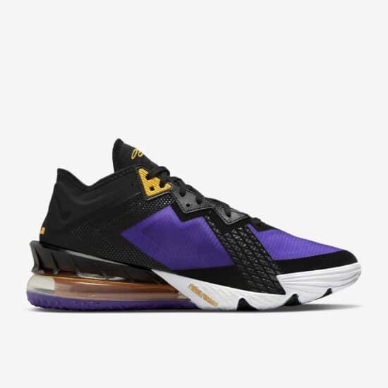 LeBron 18 Low Review: Side 2