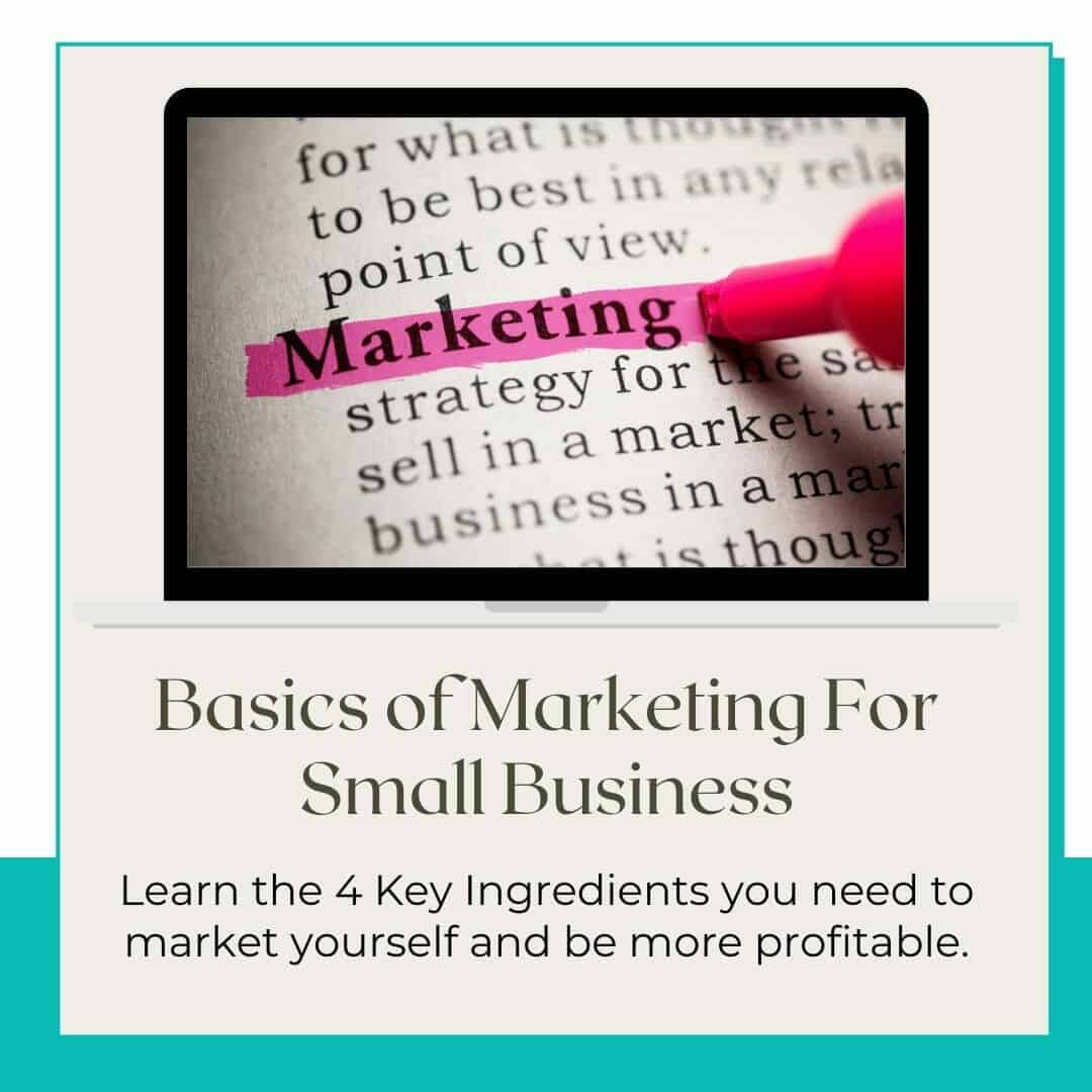 basics of marketing workshop