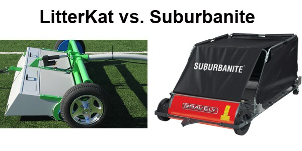 LitterKat is the premier synthetic turf sweeper