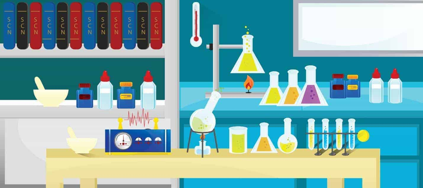 Image Depicting a Science Lab