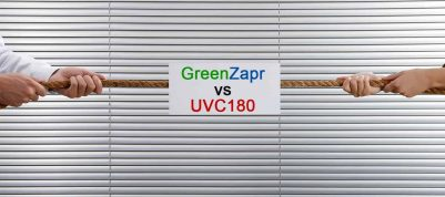 UVC180 or 850 GreenZapr