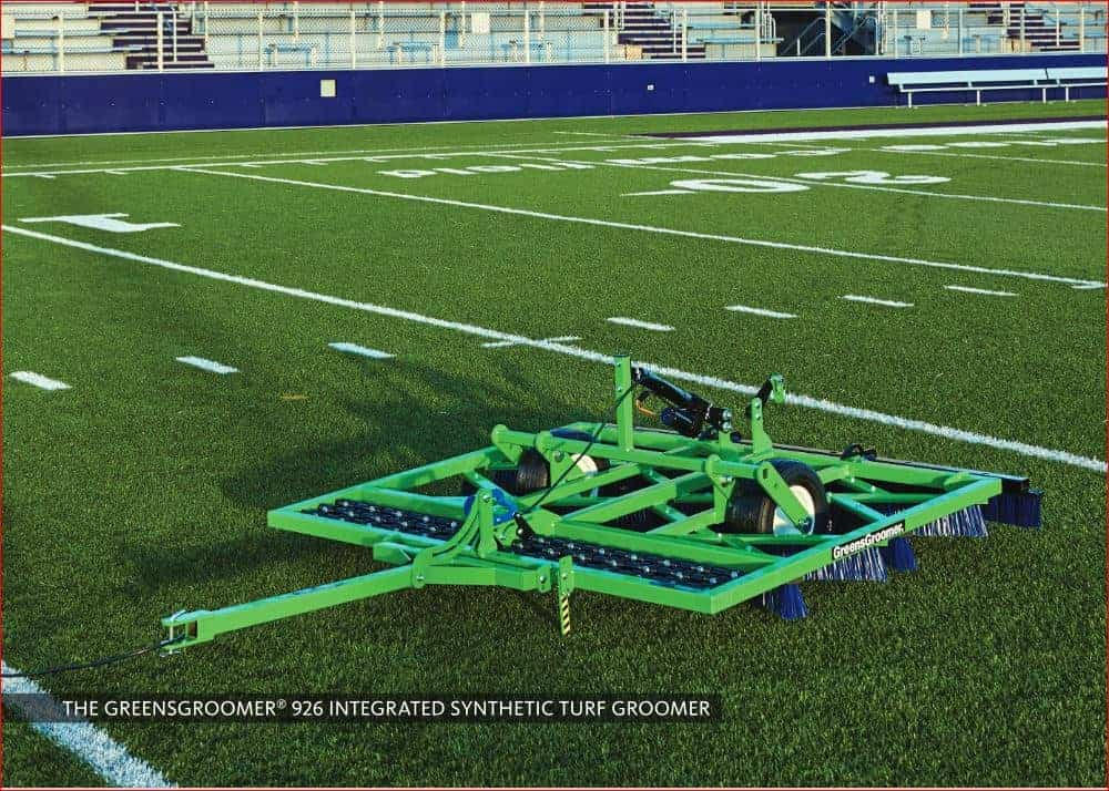Integrated Groomer on Field
