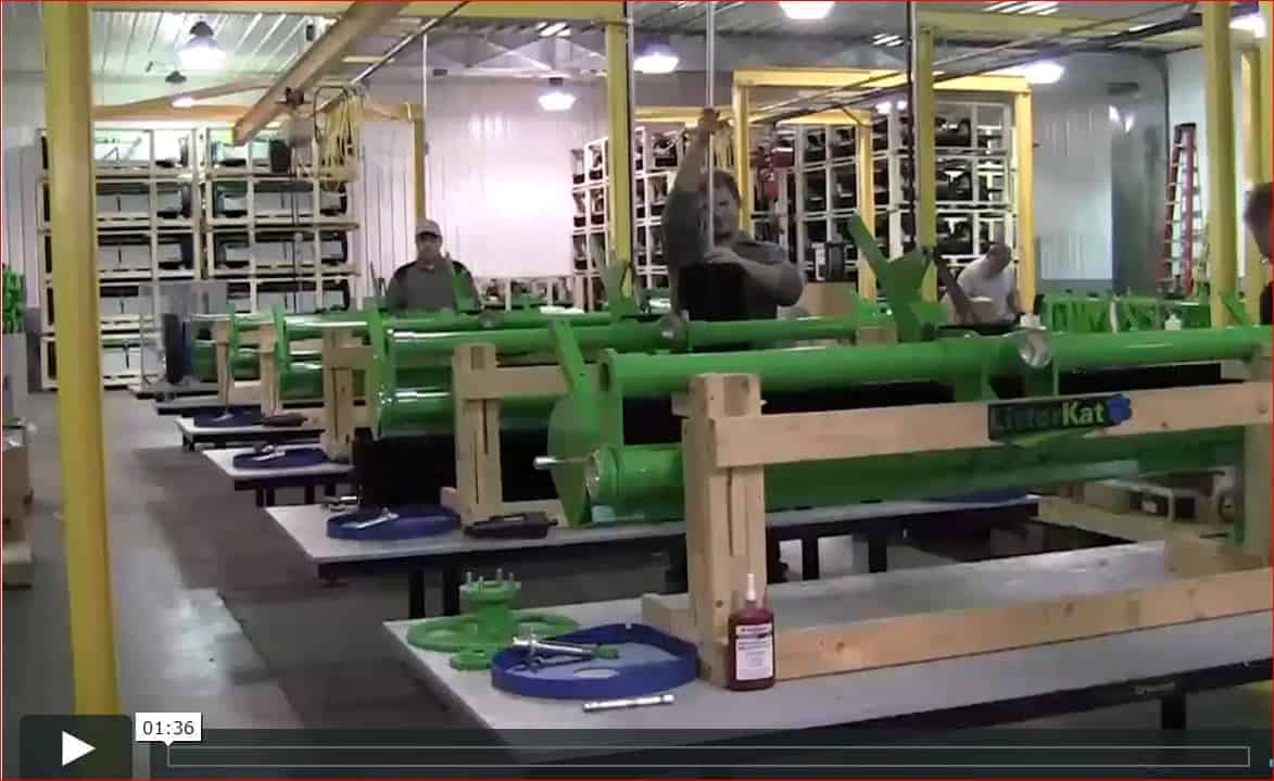 Manufacturing Facility of GreensGroomer Equipment