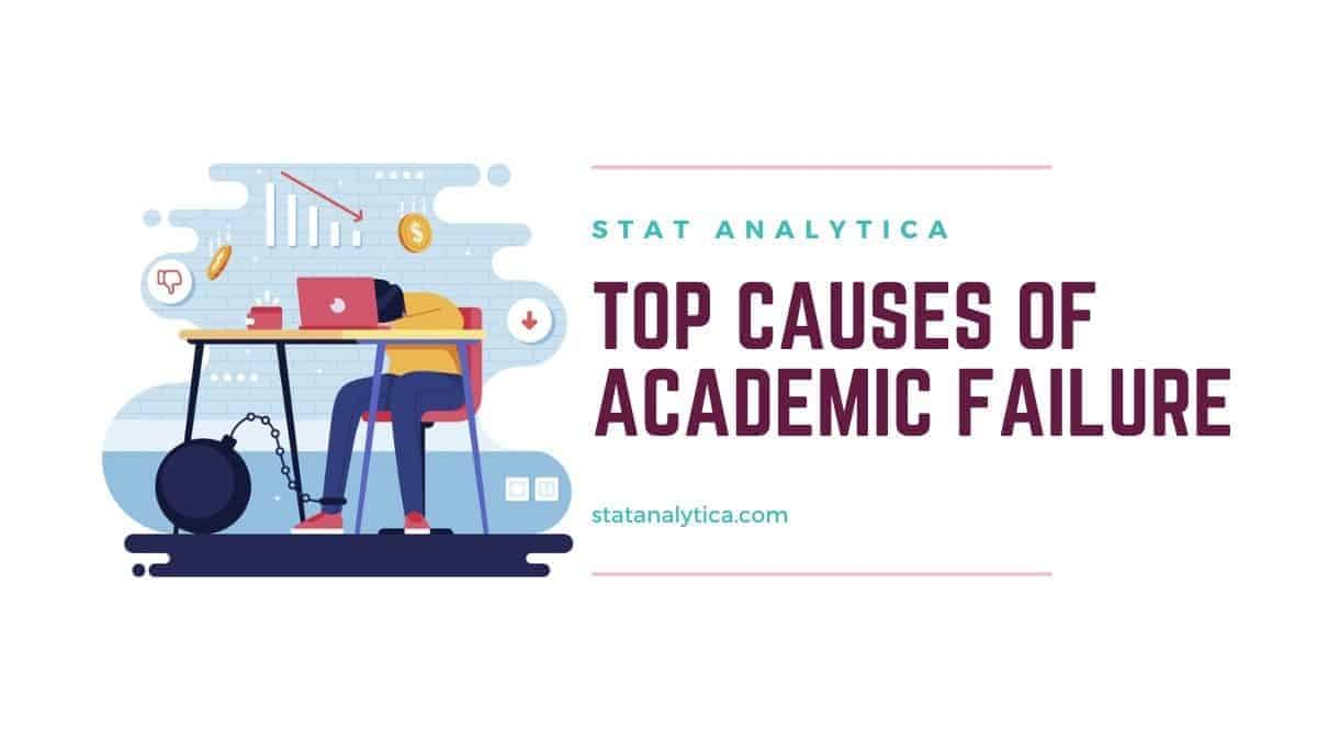 Top Causes of Academic Failure Among Students - Statanalytica