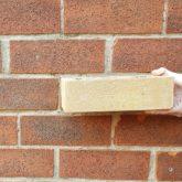 Buff brick with similar texture to originals