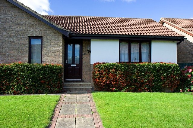 residential home with tile roof