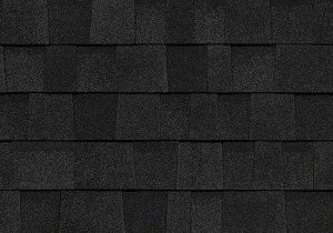 onyx black color roofing shingles