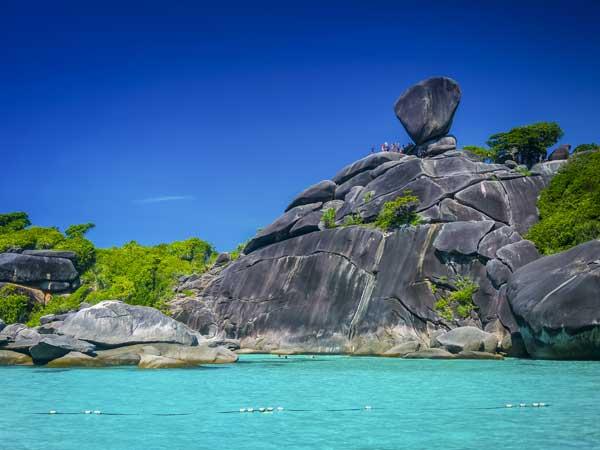 Similan liveaboards Thailand