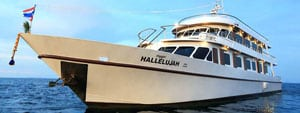Hallelujah Similan Islands liveaboard business class