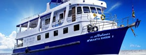 Manta Queen 1 budget Similan Islands liveaboard