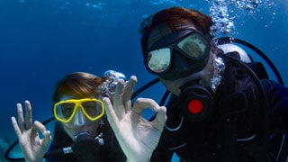 Try scuba diving for a day in Phuket