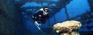 Phuket wreck dive trips