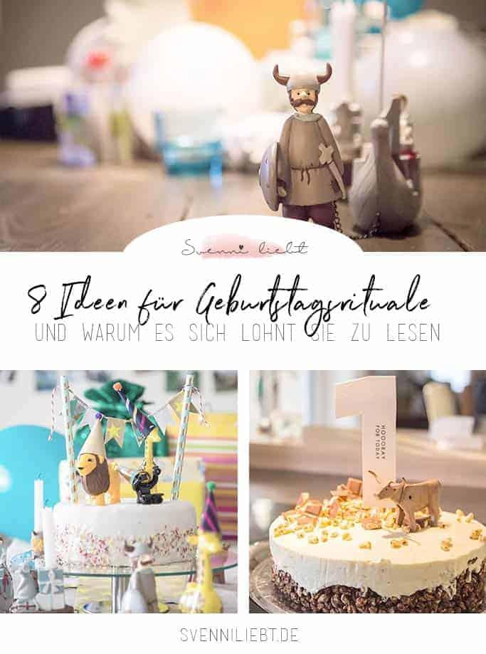 8 Ideen für Rituale zum Geburtstag