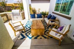 Outdoor Rug Under Furniture