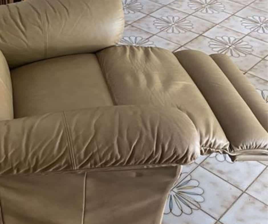 loose recliner footrest