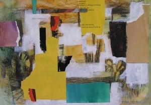 2. DÍA DE FIESTA. Apunte. 29,7x42 cm. Academia pintura en Barcelona