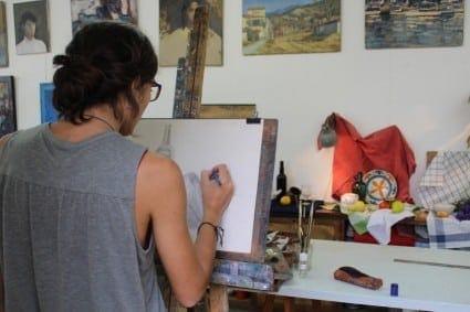 clases pintura y dibujo Barcelona
