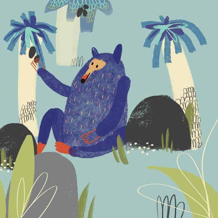 Libro ilustrado por Anna Font, cursos arte en Barcelona