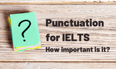 Punctuation for IELTS