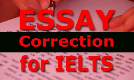 Essay Correction: Family Topic [Task 2]