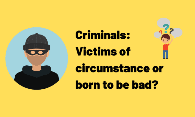IELTS Essay About Crime – Innate or Environmental?