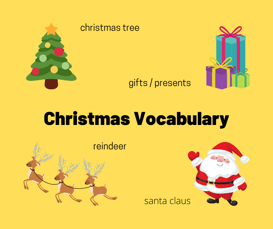 christmas vocabulary for ielts