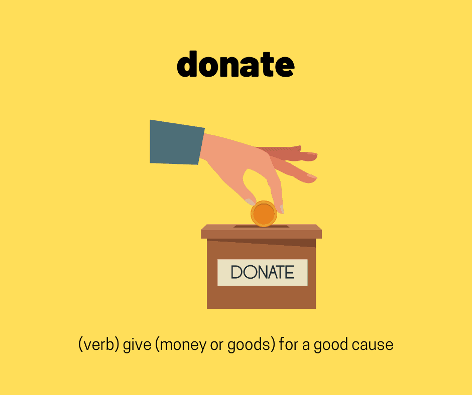 describe a charity ielts vocabulary