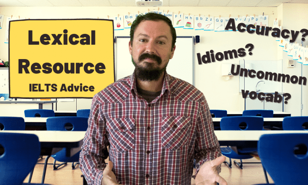 What is Lexical Resource?