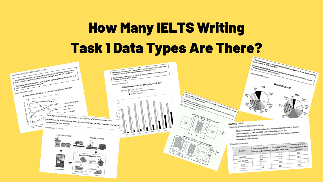 How Many Types of IELTS Writing Task 1 Are There?