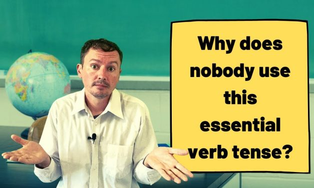 Why is the Present Perfect Tense so Important?