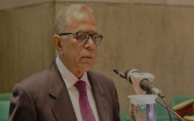 President Abdul Hamid emphasizes the continuity of economic development of climate-risk countries