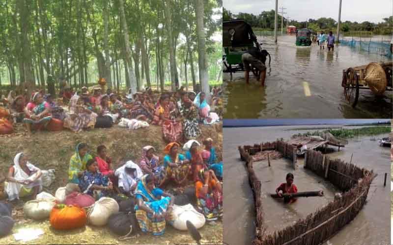 Reconstruction of Flood Embankment in Kamalganj