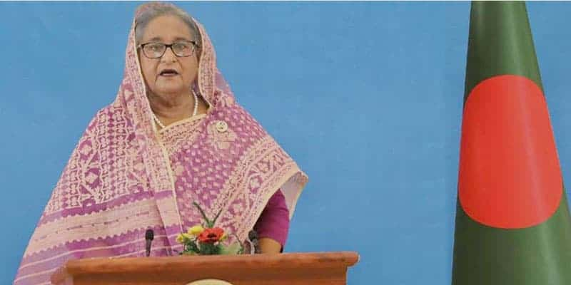 Bangladesh is well on track to achieve the Sustainable Development Goals (SDGs) - Prime Minister Sheikh Hasina, 75th UNGA session