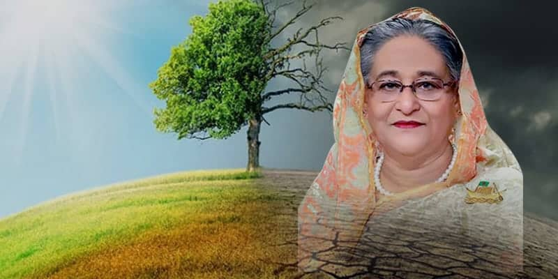 Sheikh Hasina calls for Global Action Plan to Address Climate Change