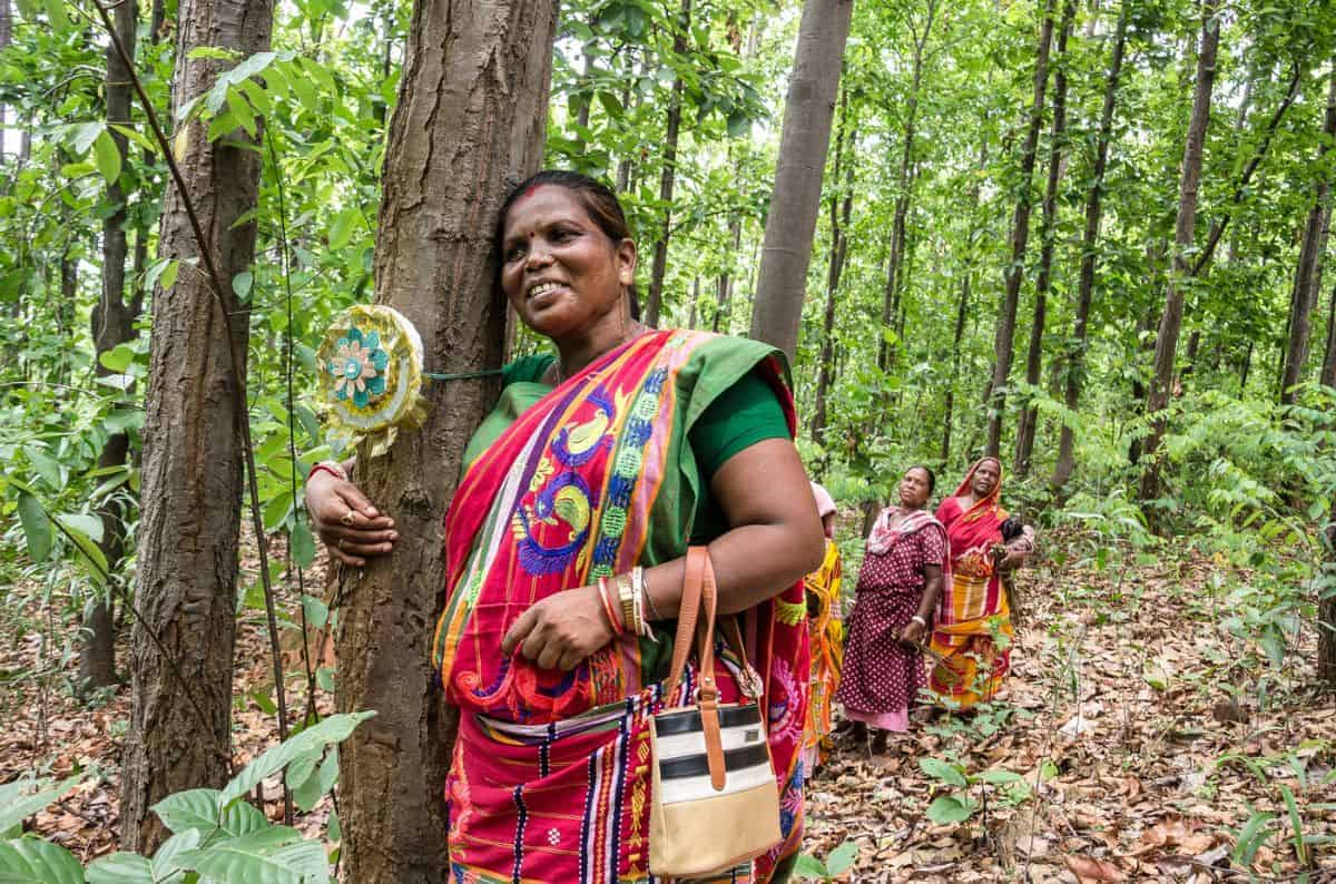 Jamuna Tudu is known as the lady Tarzan in the environmental movement in India