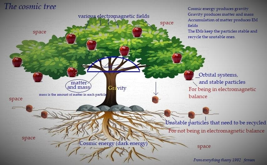 What is the strength of the tree against gravity