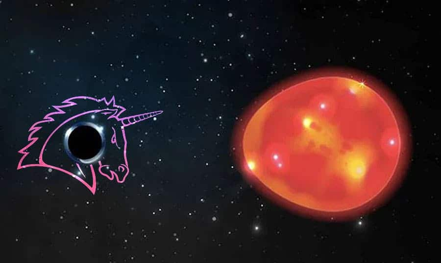 Scientists have discovered one of the minor black holes!