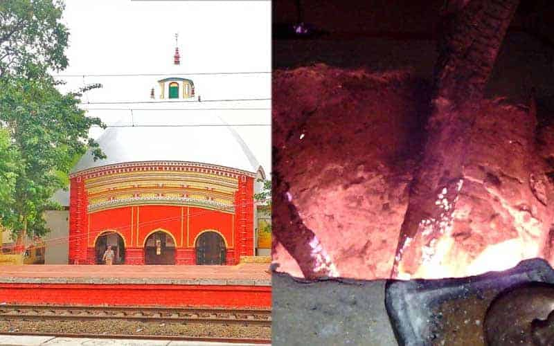 The environment is polluting due to the non-commissioning of Electric furnaces in Tarapith Crematorium
