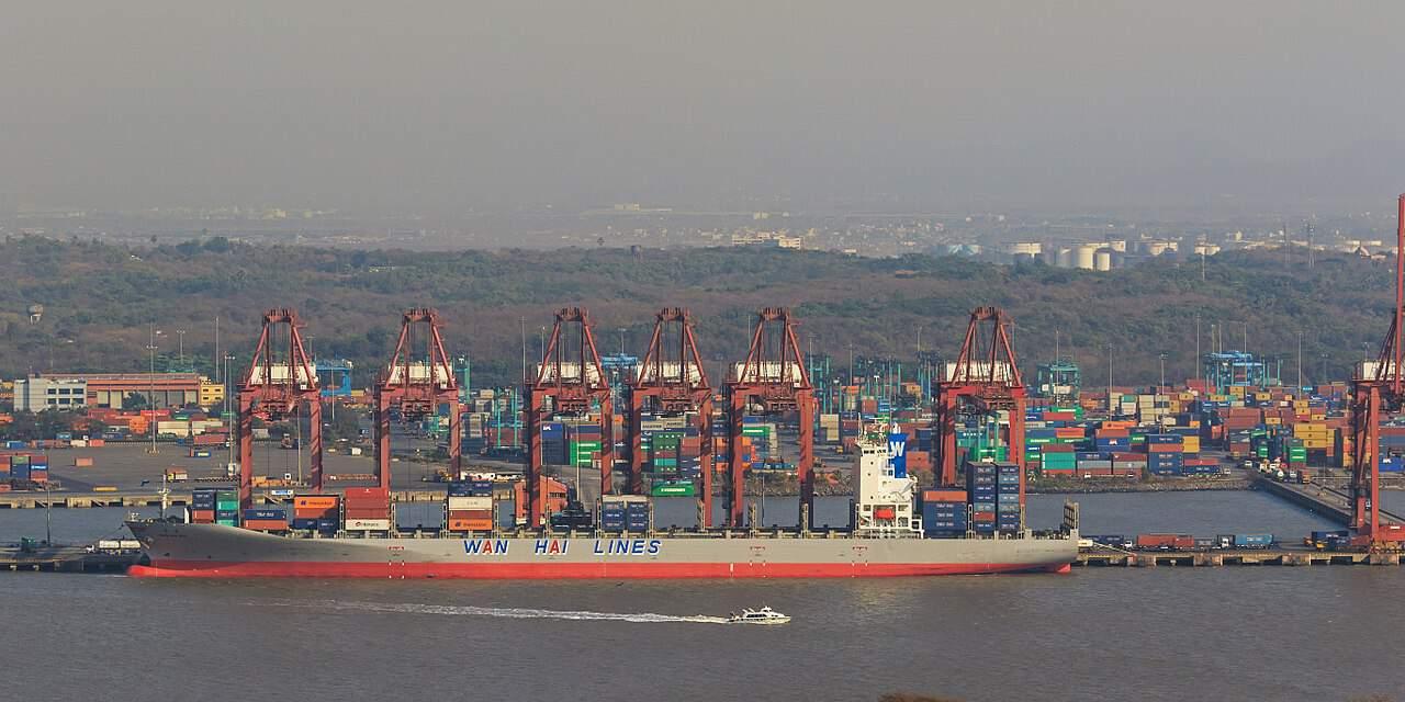 न्हावा शेवा बंदरगाह 1