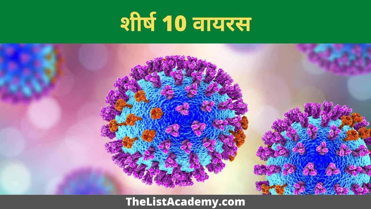 24 सबसे खतरनाक और जानलेवा वायरस 4