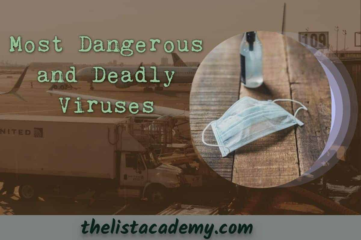 Cover Image For List : 24 Most Dangerous And Deadly Viruses