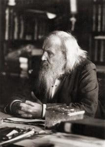 दिमित्री मेंडेलीव। Dmitri Mendeleev.