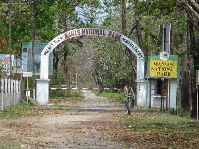 मानस राष्ट्रीय उद्यान Manas National Park