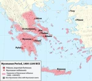 माइसेनियन सभ्यता Mycenaean civilization