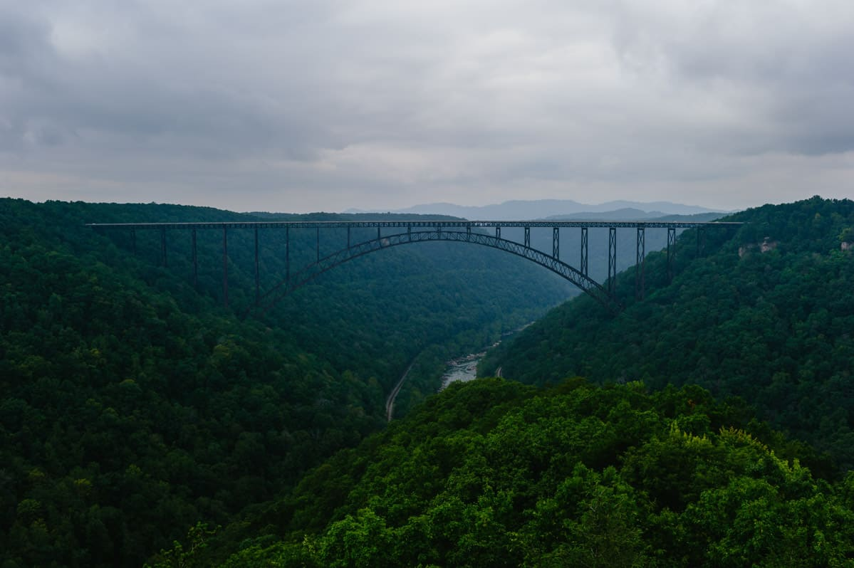 new river gorge wedding by the oberports