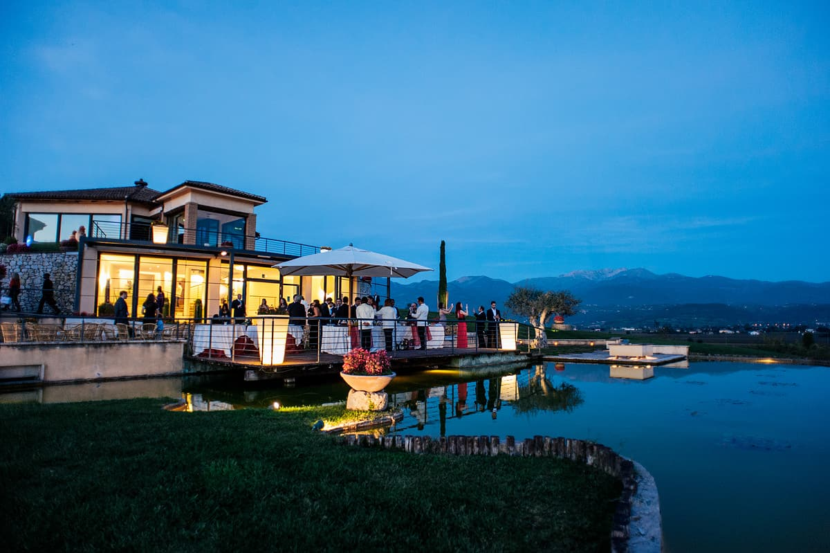 destination wedding photography rieti italy cole aluffi cocktail hour